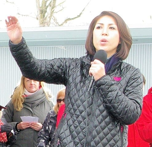 Paulette Jordan is running for governor of Idaho. Source WikiMedia Commons