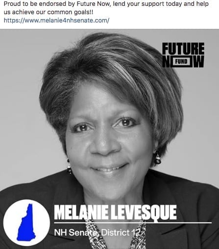 Future Now endorsement of Melanie Levesque for state senate
