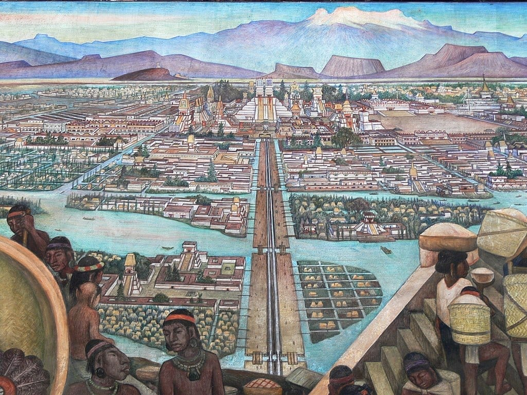 Tenochtitlan map