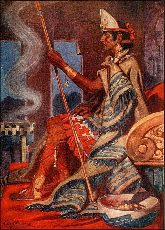 Aztec King Montezuma II